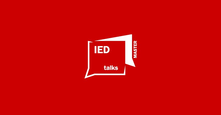 IED MASTER TALKS: THE POWER OF DESIGN FOR TOMORROW'S WORLD